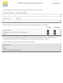 Attachment F - Six Month Re-determination Review Form - Florida Health