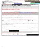 Application For Reinstatement