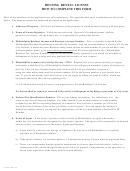 Form 81-900 (1) - Housing Rental License Application