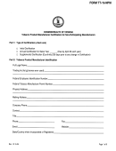 Form Tt-19-npm - Tobacco Product Manufacturer Certification For Non-participating Manufacturers - Commonwealth Of Virginia