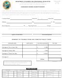 Dbpr Form Ab&t 4000a-220 - Passenger Carrier Cigarette Report