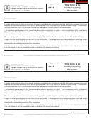 Form 2478 - Exemption Certificate For Sales Of Handicraft Items - 2007