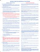Estimated Tax Worksheet - 2009