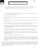 Form Usc-1i - Instructions For Preparing Form Ucs-1 Employer Registration Report - Florida Department Of Revenue