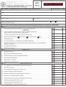 Form Int-3 - Savings & Loan Association - Building & Loan Association Tax Return - 2007