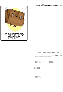 Law School Graduation Party Invitation Template