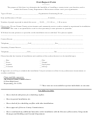 Tent Request Form - Greene County Department Of Recreation