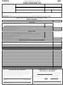 Form 64 - Bank Franchise Tax - 2004