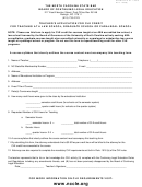 Ncsb Form 8 - Teacher's Application For Cle Credit For Teaching At A Law School, Graduate School Or Paralegal School