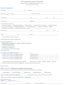 Printer/fax Friendly Registration Form - Nyscate Annual Conference - 2014