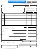 Form 12-100/form 12-101 - Texas Hotel Occupancy Tax Report