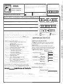 Landowner Only Mail Order Application - Odfw Controlled Hunts - 2016