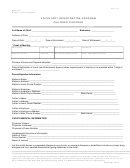 Voluntary Registration Program Children's Record