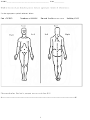 Body Pain Location Chart