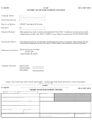 Form F-1040pv - Income Tax Return Payment Voucher - City Of Flint - 2016