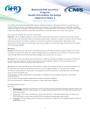Medicaid Ehr Incentive Program Health Information Exchange - Objective Stage 3 - Centers For Medicare And Medicaid Services