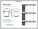 Greenlayer Sizing Chart