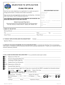 Form 611 - Objection To Application