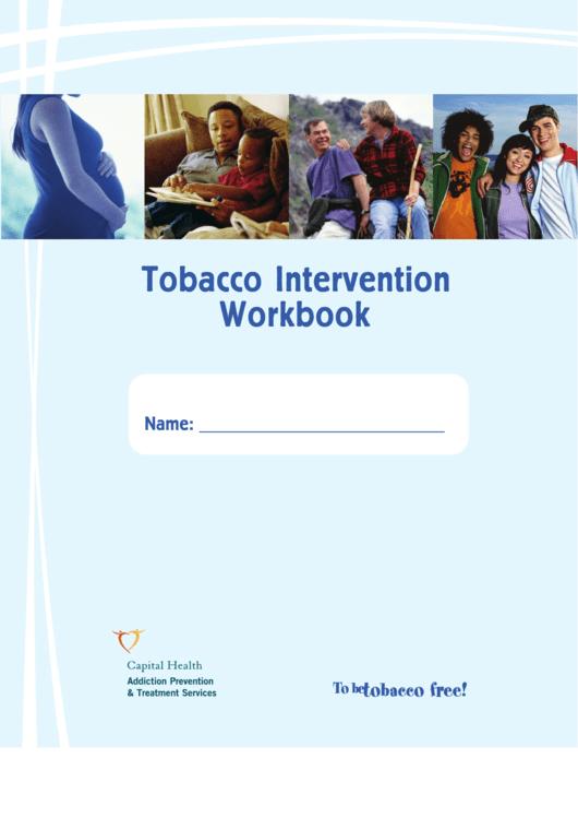Tobacco Intervention Workbook