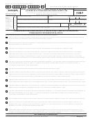Formulario 8453(sp) - Informe Del Impuesto Sobre El Ingreso Personal De Los Estados Unidos Por Medio De La Presentacion Electronica Del Irs E-file - 2007