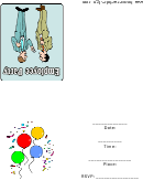 Employee Party Invitation Template