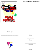 Tailgate Party Invitation Template