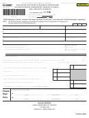 Form N-288c - Application For Tentative Refund Of Withholding On Dispositions By Nonresident Persons Of Hawaii Real Property Interests - 2016