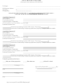45-day Identification Form - Identification Of Construction Or Improvements To Acquisition Property