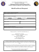 Form Bof 08-300 - California Firearms Licensee Check (cflc) Firearms Shipment Approval Letter Request Form - California Department Of Justice
