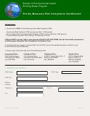 Priority Measures Plan Compliance Certification - Alaska Division Of Environmental Health