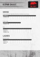 Deltuff Clothing Size Chart