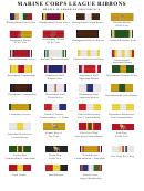 Marine Corps League Ribbons Chart