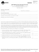Montana Form Msa-p - Medical Care Savings Account - 2007