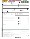 Form In-111 - Vermont Income Tax Return - 2015