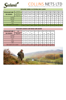 Clothing Size Guide - Collins Nets Ltd