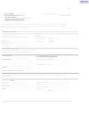 Sample Transferor's (seller's) Application For Transfer Form