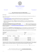 Revision Request For Automated Clearing House (ach) Debit Account Payments Form - New Jersey Department Of The Treasury