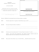 Form Mllc-11c - Domestic Limited Liability Company Certificate Of Cancellation Of Articles Of Organization Of Limited Liability Company