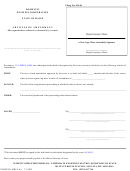 Form Mbca-9a - Domestic Business Corporation Articles Of Amendment (reorganization Ordered Or Decreed By A Court) - 2003
