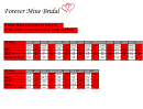 Child Measurement Chart - Centimeters And Inches Size Unit - Forever Mine Bridal