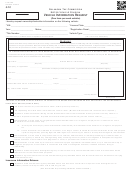 Form 769 - Vehicle Information Request - Oklahoma Tax Commission - Motor Vehicle Division