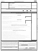 Form 64 - Bank Franchise Tax - 2003