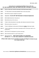 Form Rd106a - Convention And Tourism Hotel/motel Worksheet For Itemized Adjustments - Kansas City, Missouri Revenue Division