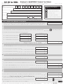 Form 941-ss - Employer's Quarterly Federal Tax Return - American Samoa, Guam, The Commonwealth Of The Northern Mariana Islands, And The U.s. Virgin Islands - 2006
