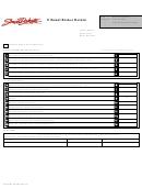 Dor/dmv Form 593 - Ethanol Broker Return