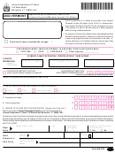 Form Ba-403 - Application For Extension Of Time To File Vermont Corporate/business Income Tax Return - 2002