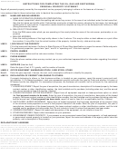 Instructions For Form Boe-566-j - Oil, Gas And Geothermal Personal Property Statement