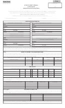 Form Stc 12:32i - Industrial Business Property Return