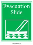Evacuation Slide