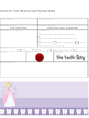 Tooth Fairy Invoice Template